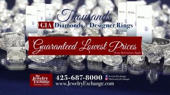 Jewelry Exchange TV Spot, 'Certified Diamond Jewelry On Sale Now' - Thumbnail 9