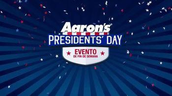 Aaron's Presidents Day Evento de Fin de Semana TV Spot, 'Lo que quieres' [Spanish]