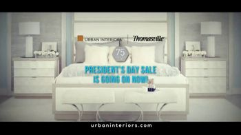 Thomasville Presidents Day Sale TV Spot, 'Legendary Brands' - Thumbnail 1