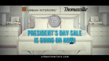 Thomasville Presidents Day Sale TV Spot, 'Legendary Brands' - Thumbnail 2