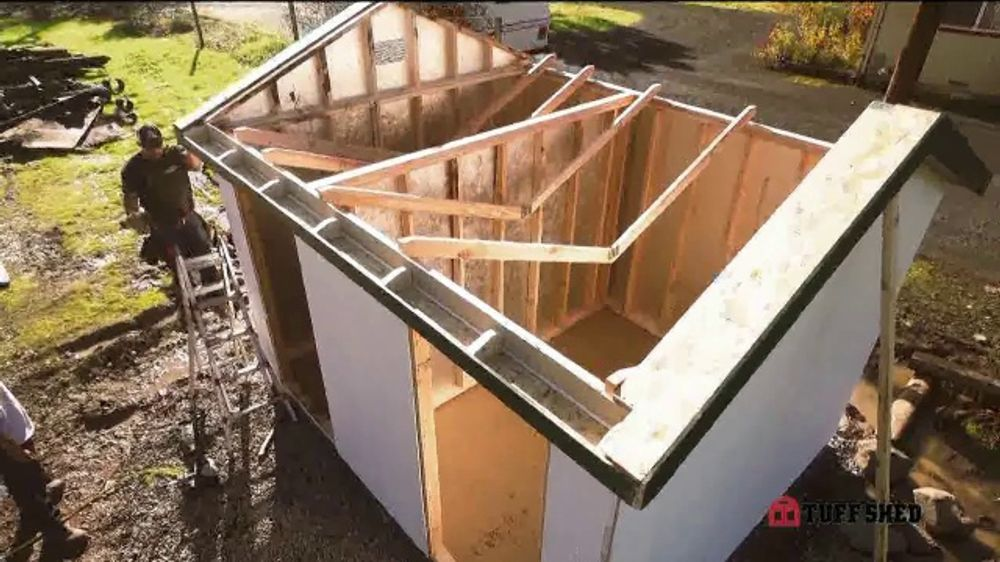 Tuff Shed Annual 2-Day Sale TV Commercial, 'No Matter the Weather' - Video