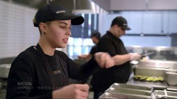 Chipotle Mexican Grill TV Spot, 'Krista: Fresh Everyday' - Thumbnail 1