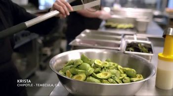 Chipotle Mexican Grill TV Spot, 'Krista: Fresh Everyday' - Thumbnail 2