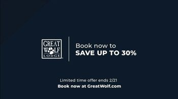 Great Wolf Lodge TV Spot, 'First: Limited Time Offer' - Thumbnail 10