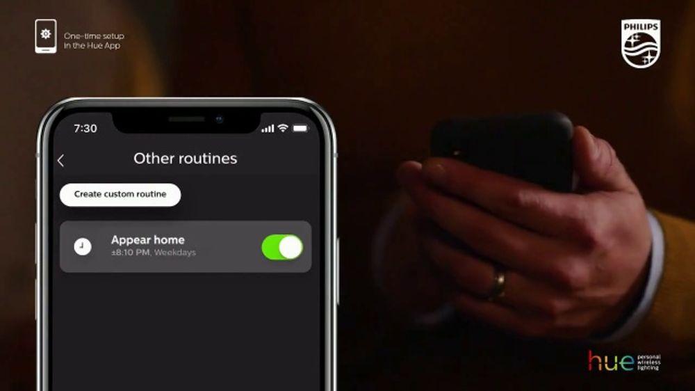 Philips Hue Smart Lighting TV Commercial, 'Defend Your Doorstep: 20 Percent  Off' - Video