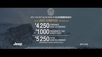 Jeep Presidents Day Sales Event TV Spot, 'A Nice Winter Day' Song by Carrollton [T2] - Thumbnail 9