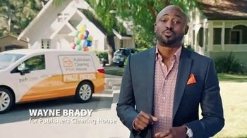 Publishers Clearing House TV Spot, 'Tick Tock' Featuring Wayne Brady - 391 commercial airings