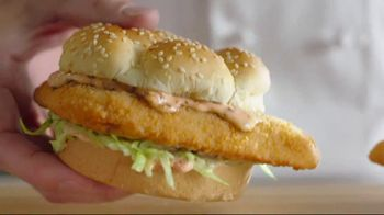 Arby's 2 for $5 Fish Sandwiches TV Spot, 'Not a Mistake' Featuring H. Jon Benjamin - Thumbnail 2