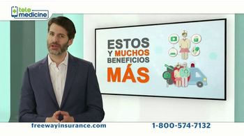 Freeway Insurance Telemedicine TV Spot, 'Muchos beneficios' [Spanish] - Thumbnail 6