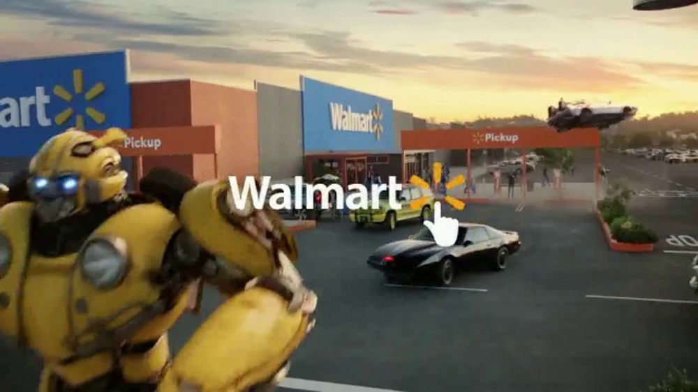 Walmart Grocery Pickup Tv Commercial Famous Cars Bumblebee Song
