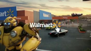 Walmart Grocery Pickup TV Spot, 'Famous Cars: Bumblebee' Song by Gary Numan