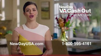 NewDay USA VA Cash Out Home Loan TV Spot, 'Big News'
