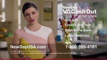 NewDay USA VA Cash Out Home Loan TV Spot, 'Big News' - Thumbnail 5