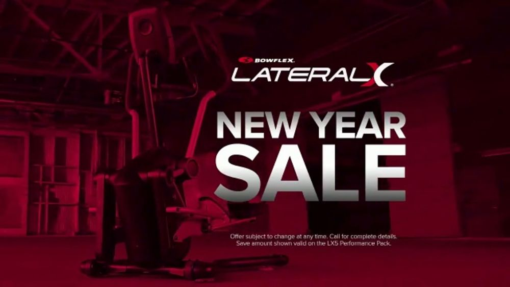 Bowflex New Year Sale TV Commercial, 'Improve the Way You Move'