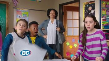 BC Sinus Pain & Congestion TV Spot, 'Teacher's Back'
