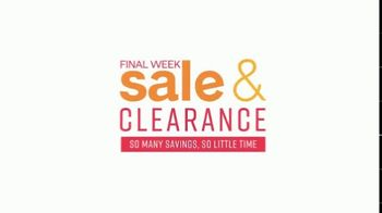 Ashley HomeStore Sale & Clearance Event TV Spot, 'Always in Style: Ends Monday' - Thumbnail 3