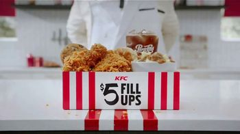 KFC $5 Fill Ups TV Spot, 'A Lot Goes Into a Fill Up' - Thumbnail 1