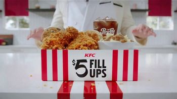 KFC $5 Fill Ups TV Spot, 'A Lot Goes Into a Fill Up' - Thumbnail 2