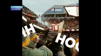 Ticketmaster TV Spot, 'More in a Minute: NFL Tickets' - Thumbnail 3
