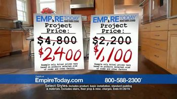 Empire Today 50-50-50 Sale TV Spot, 'Get Big Savings on Beautiful New Floors' - Thumbnail 4