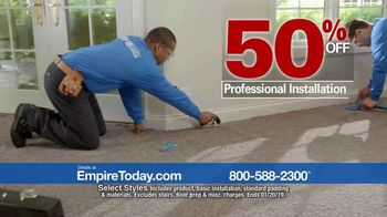 Empire Today 50-50-50 Sale TV Spot, 'Get Big Savings on Beautiful New Floors' - Thumbnail 7