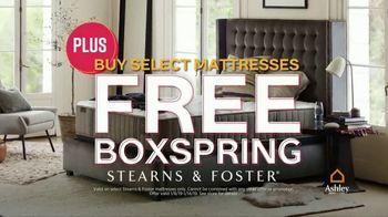 Ashley HomeStore Sale & Clearance Mattress Event TV Spot, 'Free Box Spring' - Thumbnail 5