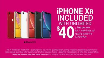 T-Mobile Unlimited TV Spot, 'New Year, New Phone: iPhone' Song by Kidpenny - Thumbnail 4