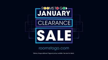 Rooms to Go January Clearance Sale TV Spot, 'Sofas & Recliners' - Thumbnail 9
