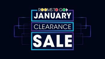 Rooms to Go January Clearance Sale TV Spot, 'Sofas & Recliners' - Thumbnail 1