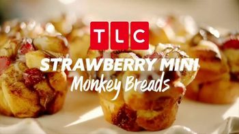 Pillsbury Grands! Cinnabon Cinnamon Rolls TV Spot, 'TLC: Strawberry Mini Monkey Breads'