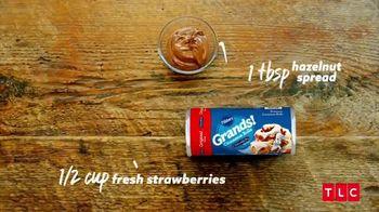 Pillsbury Grands! Cinnabon Cinnamon Rolls TV Spot, 'TLC: Strawberry Mini Monkey Breads'