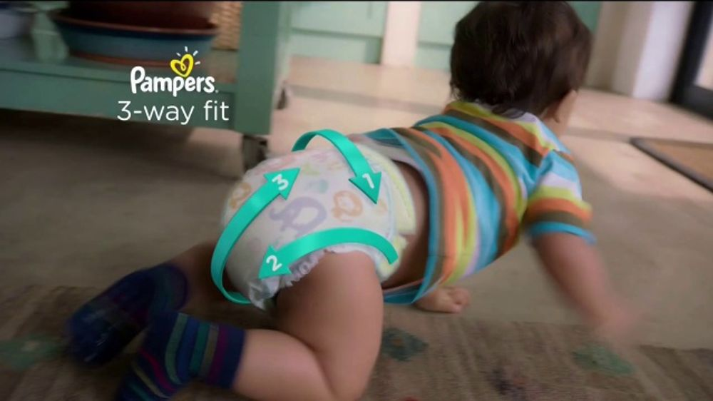 Pampers Cruisers TV Commercial, 'Baby Relay'