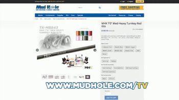 Mud Hole Custom Tackle TV Spot, 'Build Your Own Rod' - Thumbnail 3