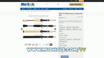 Mud Hole Custom Tackle TV Spot, 'Build Your Own Rod' - Thumbnail 4