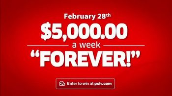 Publishers Clearing House Forever Prize TV Spot, 'Time Is Running Out' Featuring Wayne Brady - Thumbnail 9