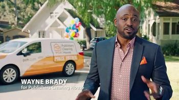 Publishers Clearing House Forever Prize TV Spot, 'Time Is Running Out' Featuring Wayne Brady - 17 commercial airings