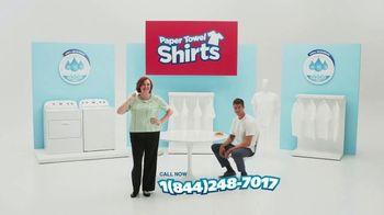 SafeAuto TV Spot, 'Paper Towel Shirts'
