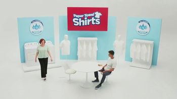 SafeAuto TV Spot, 'Paper Towel Shirts' - Thumbnail 1