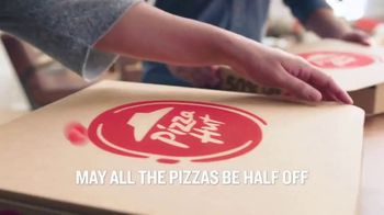 Pizza Hut TV Spot, 'Half Off Pizzas for January' - Thumbnail 1