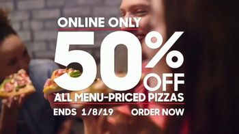 Pizza Hut TV Spot, 'Half Off Pizzas for January' - Thumbnail 10