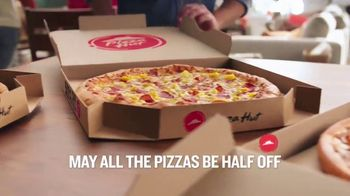 Pizza Hut TV Spot, \'Half Off Pizzas for January\'