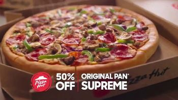 Pizza Hut TV Spot, 'Half Off Pizzas for January' - Thumbnail 7