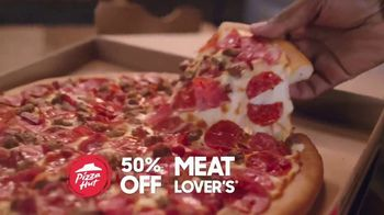 Pizza Hut TV Spot, 'Half Off Pizzas for January' - Thumbnail 8