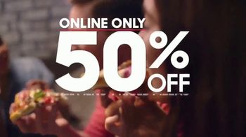 Pizza Hut TV Spot, 'Half Off Pizzas for January' - Thumbnail 9