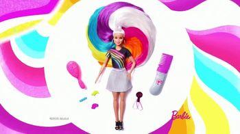 Barbie Rainbow Sparkle Hair TV Spot, 'Creating Our Own Looks' - Thumbnail 2