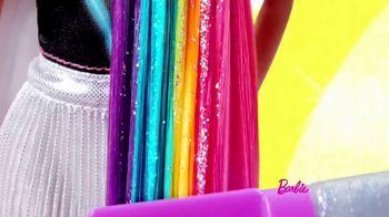 Barbie Rainbow Sparkle Hair TV Spot, 'Creating Our Own Looks' - Thumbnail 5