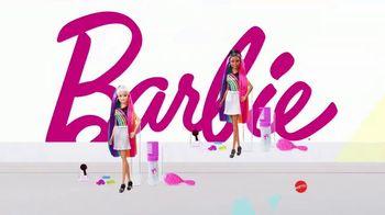 Barbie Rainbow Sparkle Hair TV Spot, 'Creating Our Own Looks' - Thumbnail 6