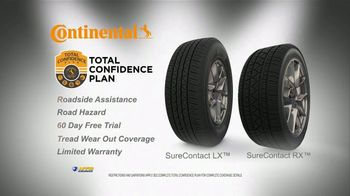National Tire & Battery Big Brands Bonus Month TV Spot, 'Mail-In Rebate: Continental' - Thumbnail 4