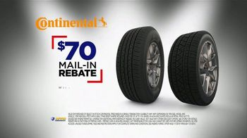 National Tire & Battery Big Brands Bonus Month TV Spot, 'Mail-In Rebate: Continental' - Thumbnail 6