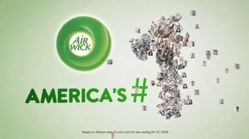 Air Wick Scented Oil Warmer TV Spot, 'Perfect Amount'
